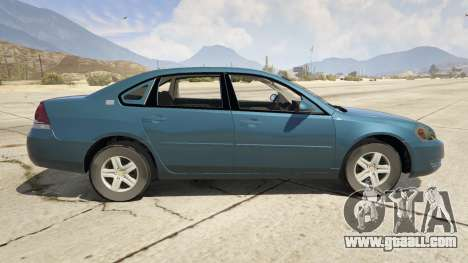 GTA 5 Chevrolet Impala left side view