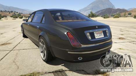 GTA 5 GTA 4 Enus Cognoscenti rear left side view