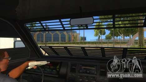 GTA 5 Burrito Transport for GTA San Andreas inner view