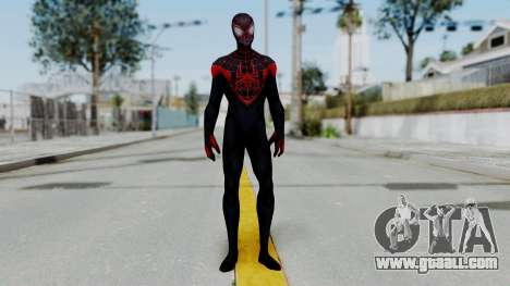 Marvel Future Fight Spider Man Miles v1 for GTA San Andreas second screenshot