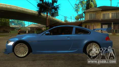 BMW M6 Full Tuning for GTA San Andreas left view