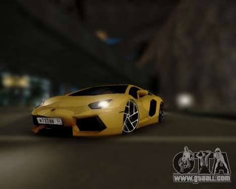 Lamborghini Aventador LP700-4 for GTA San Andreas