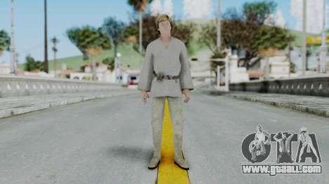 SWTFU - Luke Skywalker Tattoine Outfit for GTA San Andreas second screenshot