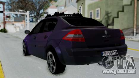 Renault Megane II for GTA San Andreas left view