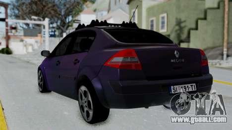 Renault Megane II for GTA San Andreas left view