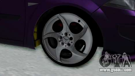 Renault Megane II for GTA San Andreas back left view