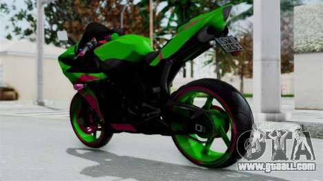 Yamaha R1 for GTA San Andreas left view