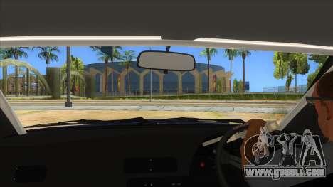 Nissan S13 Zenki for GTA San Andreas inner view