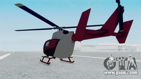 GTA 5 Super Volito for GTA San Andreas left view
