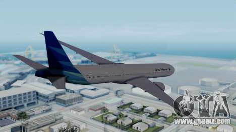 Boeing 777-9U3(X) Garuda Indonesia for GTA San Andreas left view
