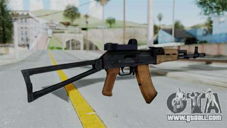 Arma2 AKS-74 Cobra for GTA San Andreas second screenshot