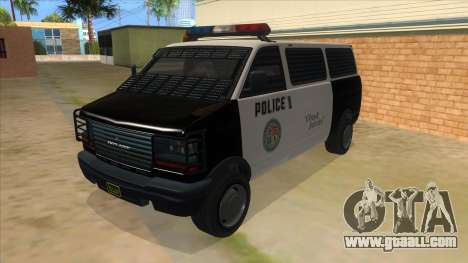 GTA 5 Burrito Transport for GTA San Andreas