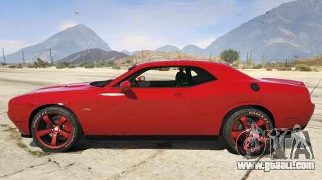 GTA 5 2015 Dodge Challenger left side view