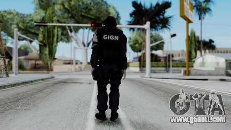 GIGN from Rainbow Six Siege for GTA San Andreas third screenshot