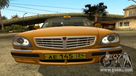 GAZ 31105 Volga Taxi IVF for GTA San Andreas side view