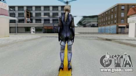 Jill Valentine Battlesuit Closed RE5 for GTA San Andreas third screenshot