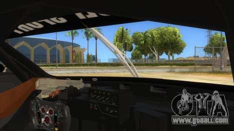 Renault Sport RS 01 INTERCEPTOR for GTA San Andreas inner view