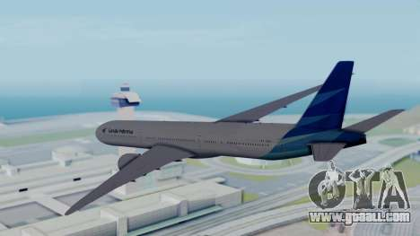 Boeing 777-9U3(X) Garuda Indonesia for GTA San Andreas right view