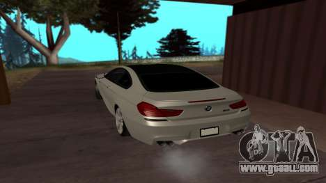 BMW M6 for GTA San Andreas left view