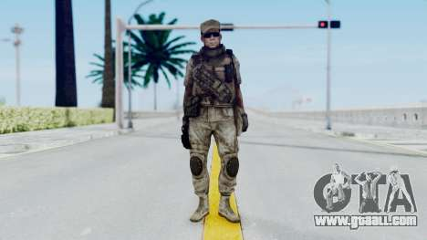 Crysis 2 US Soldier 4 Bodygroup B for GTA San Andreas second screenshot