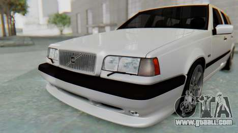 Volvo 850R 1997 Tunable for GTA San Andreas bottom view