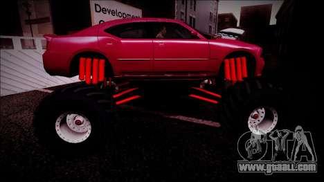 2006 Dodge Charger SRT8 Monster Truck for GTA San Andreas engine