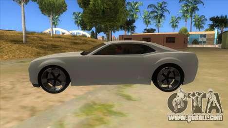 Chevrolet Camaro DOSH tuning MQ for GTA San Andreas left view