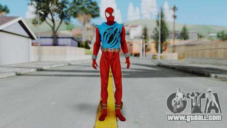Scarlet Spider Ben Reilly for GTA San Andreas second screenshot