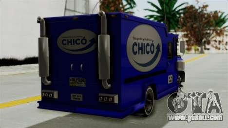 Chevrolet C30 Furgon Stylo Colombia for GTA San Andreas left view