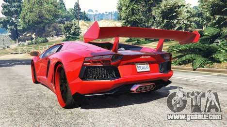Lamborghini Aventador v1.0 for GTA 5
