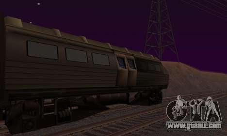 Batman Begins Monorail Train v1 for GTA San Andreas left view