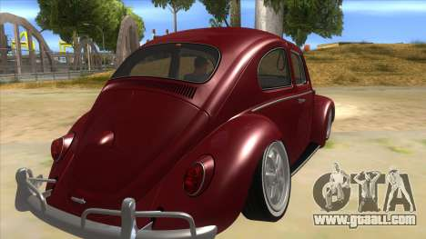 Volkswagen Beetle Aircooled V2 for GTA San Andreas right view