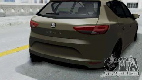 Seat Leon for GTA San Andreas right view