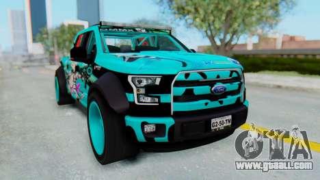 Ford F-150 2015 Drift Gym for GTA San Andreas