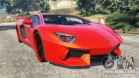 Lamborghini Aventador v1.0 for GTA 5