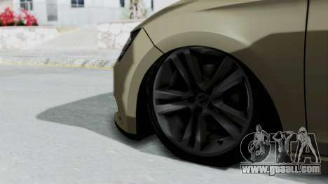 Seat Leon for GTA San Andreas back left view