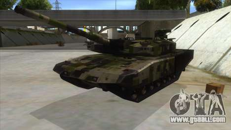 MBT52 Kuma for GTA San Andreas