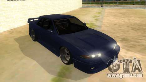 Nissan S13 Zenki for GTA San Andreas back view