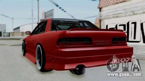 Nissan Silvia S13 Drift for GTA San Andreas left view