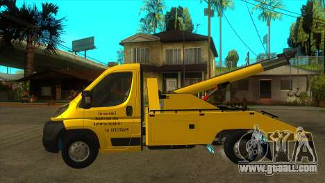 Fiat Ducato Road Asisstance for GTA San Andreas left view