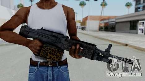 GTA 5 Online Lowriders DLC Combat MG for GTA San Andreas third screenshot