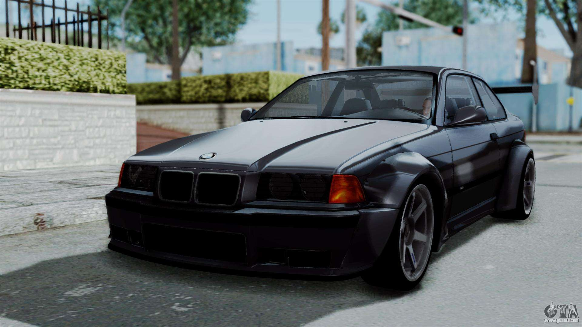 bmw m3 e36 widebody for gta san andreas. Black Bedroom Furniture Sets. Home Design Ideas