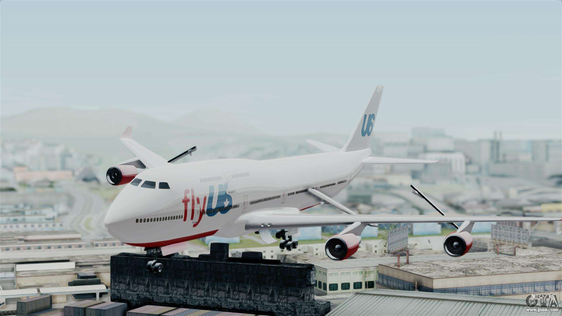 GTA 5 Jumbo Jet v1 0 FlyUS for GTA San Andreas