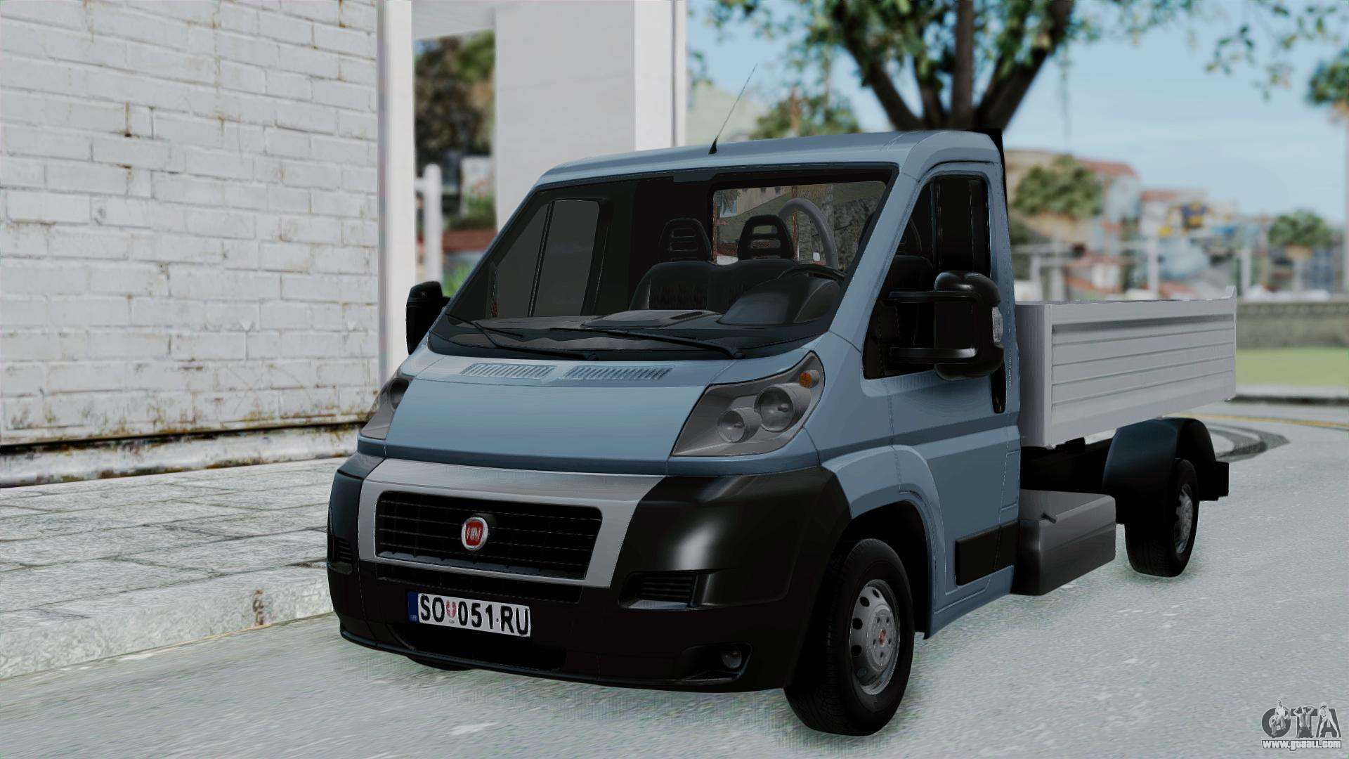 fiat ducato pickup for gta san andreas. Black Bedroom Furniture Sets. Home Design Ideas