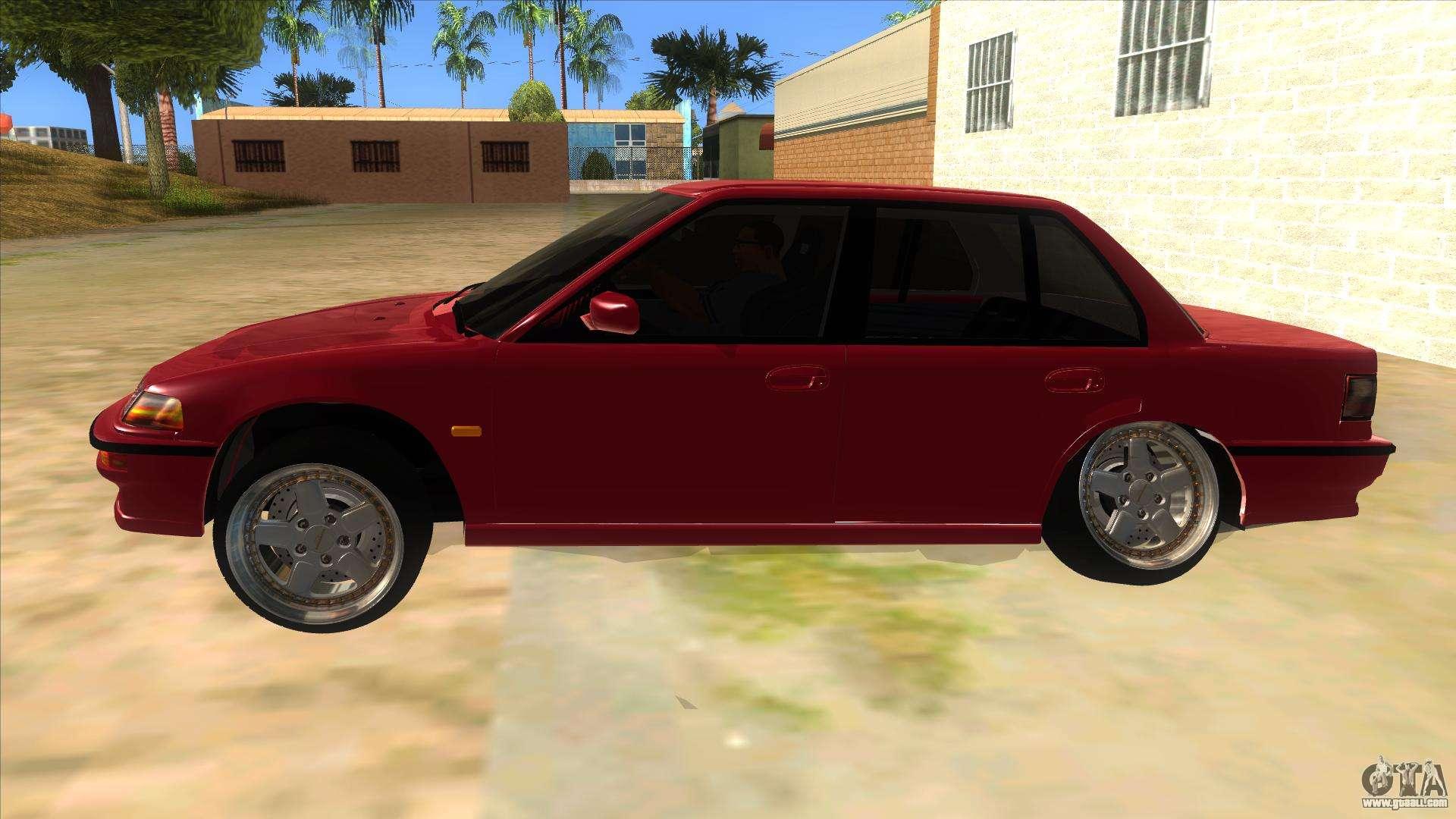Honda Civic Ef Sedan For GTA San Andreas Left View