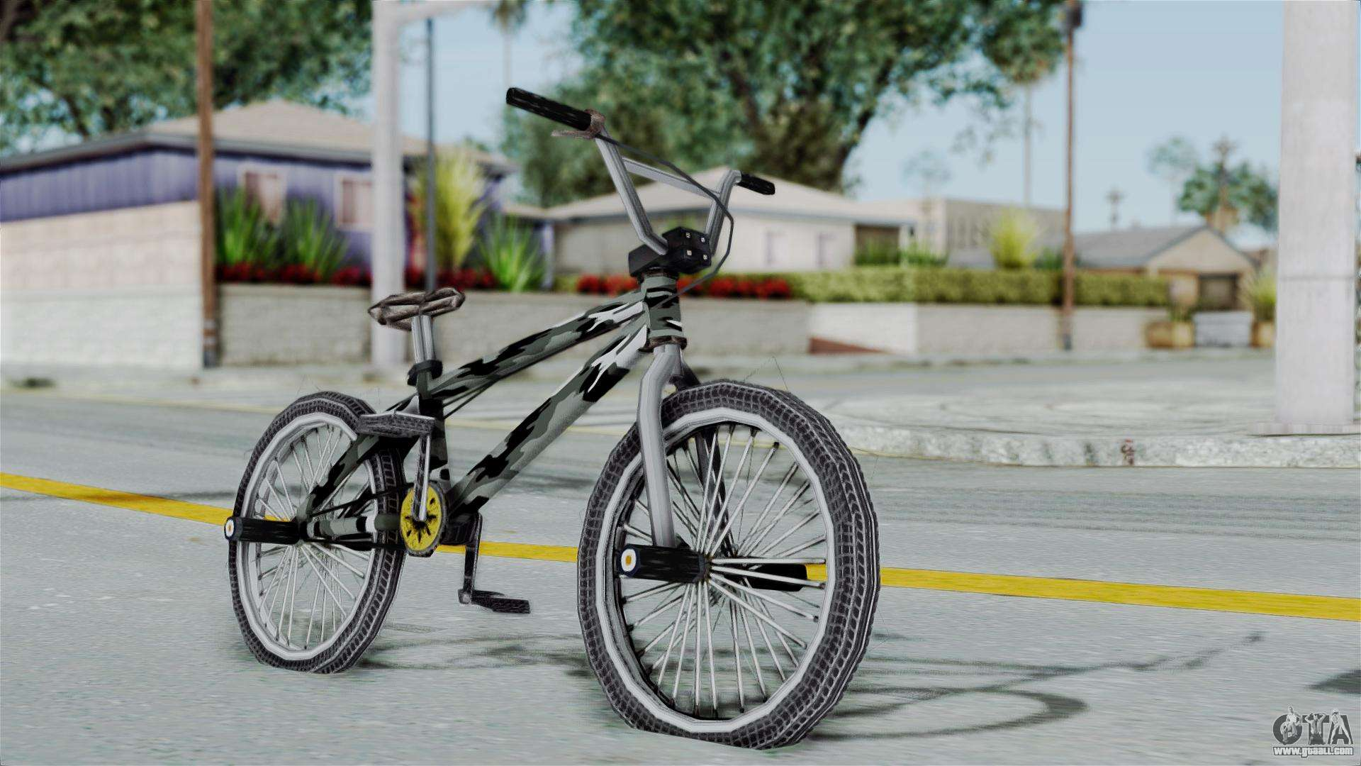 GTA 5 BMX Camo for GTA San Andreas
