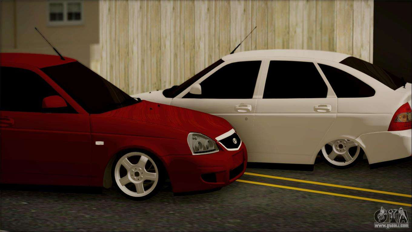 lada 2172 priora for gta san andreas. Black Bedroom Furniture Sets. Home Design Ideas