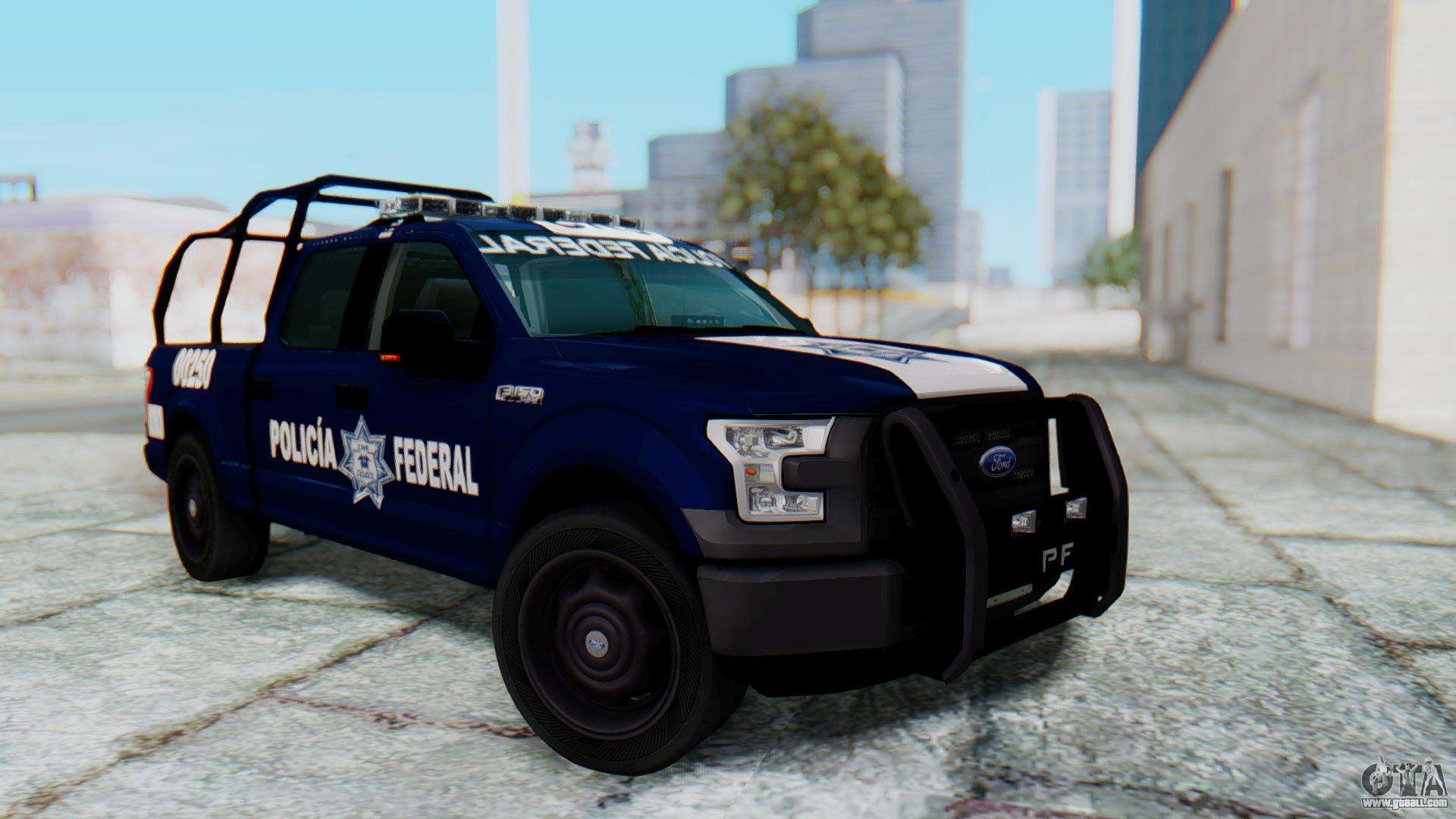 Ford F-150 2015 Policia Federal for GTA San Andreas