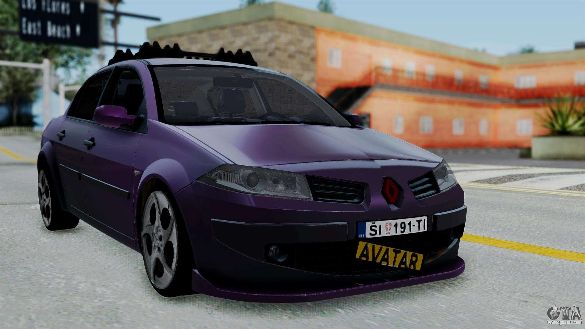 renault megane ii for gta san andreas. Black Bedroom Furniture Sets. Home Design Ideas