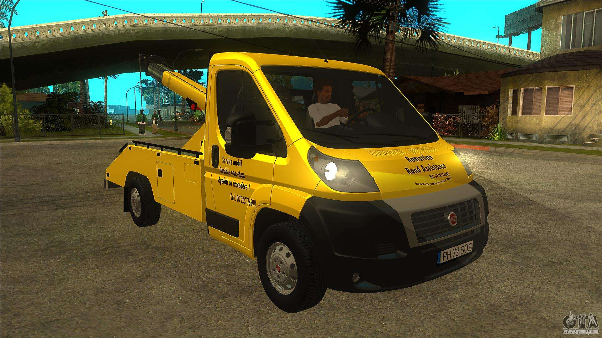 Fiat Ducato Road Asisstance For GTA San Andreas